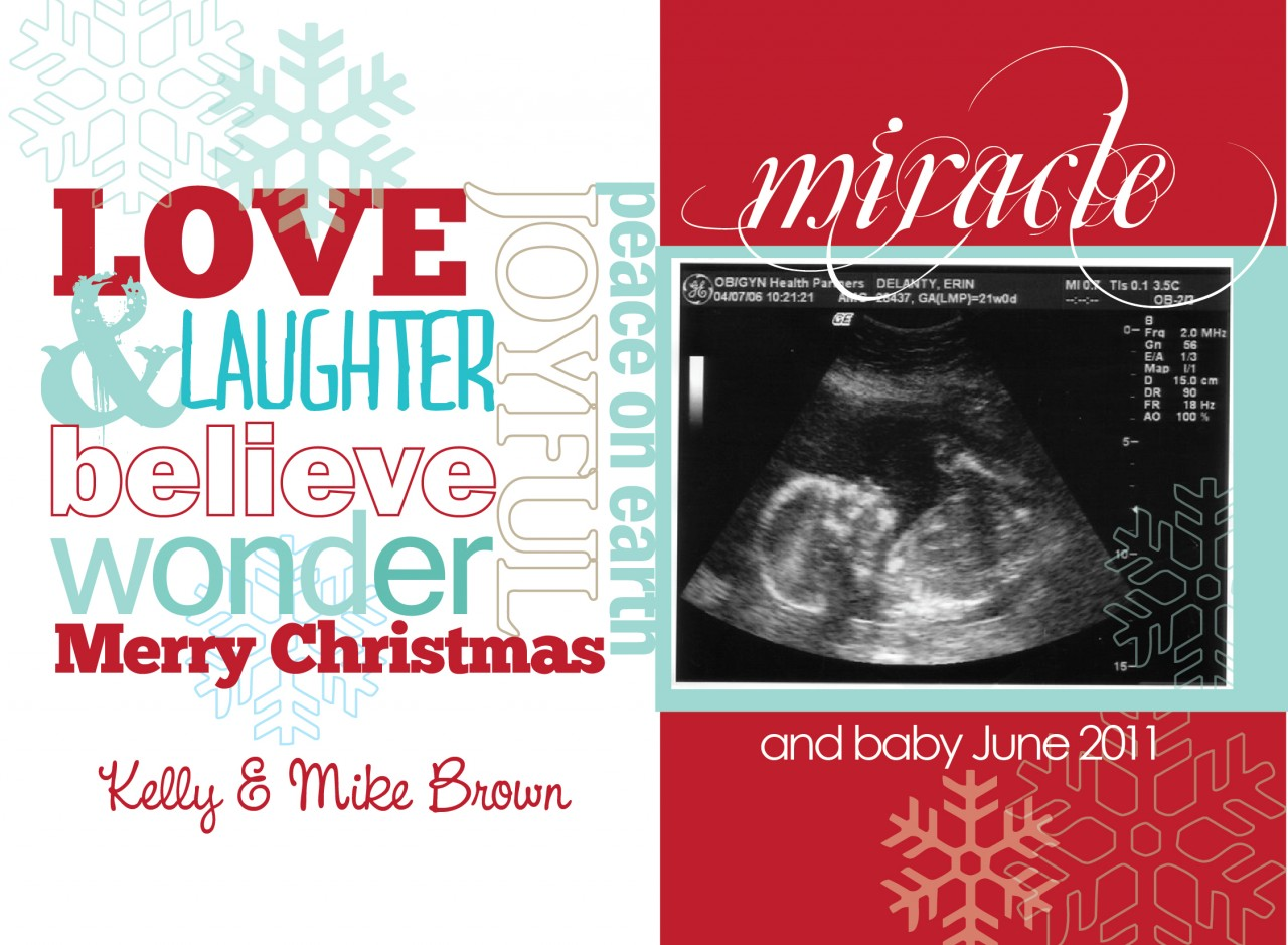 christmas card with pregnancy announcement @ Cerita main :: 痞客邦::