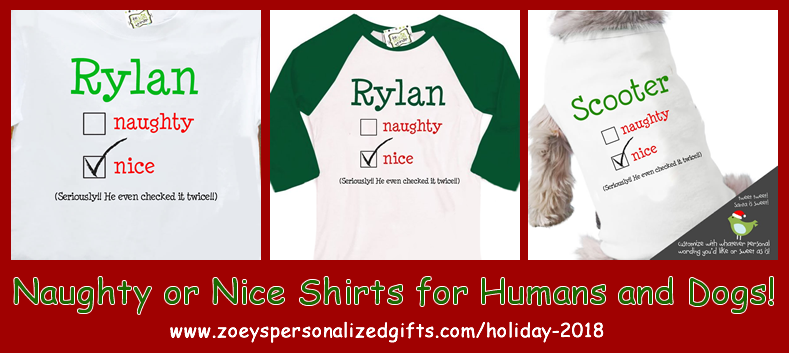26f4a543bb1f Zoey's Attic Personalized Shirts & Gifts has had lots of fun making shirts  and gifts for the holidays with this